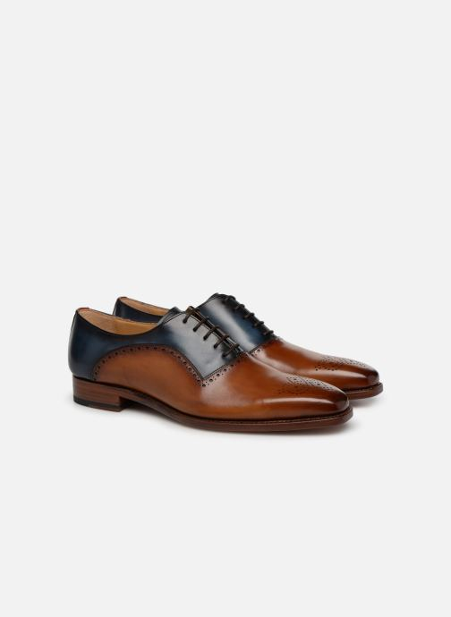 Zapatos con cordones Marvin&Co Luxe Welner - Cousu Goodyear Multicolor vista 3/4